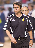 LA Galaxy Head Coach Frank Yallop. LA Galaxy defeated New York 1-0 during a MLS game at The Home Depot Center in Carson, California, Tuesday July 4, 2006.