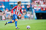 Antoine Griezmann of Atletico Madrid in action during their La Liga match between Atletico Madrid and Deportivo de la Coruna at the Vicente Calderon Stadium on 25 September 2016 in Madrid, Spain. Photo by Diego Gonzalez Souto / Power Sport Images
