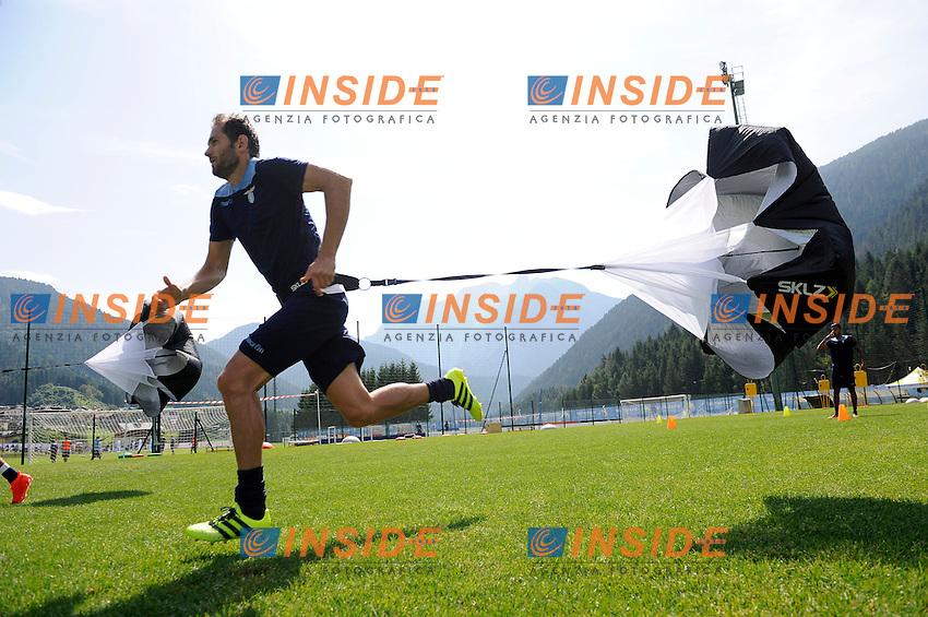 Senad Lulic<br /> 22-07-2016 Auronzo di Cadore ( Belluno )<br /> Ritiro estivo S.S. Lazio ad Auronzo di Cadore in preparazione per la stagione 2016-2017<br /> SS Lazio pre season training camp <br /> @ Marco Rosi / Fotonotizia / Insidefoto