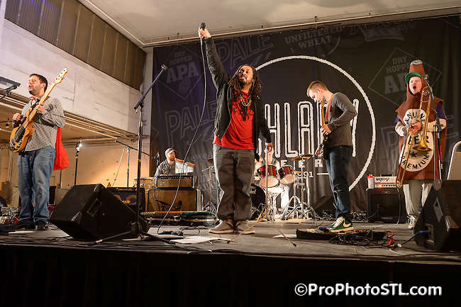 Unanonimous in concert during Naughty Gras 6 event at Koken Art Factory in St. Louis, MO on Feb 2, 2013.