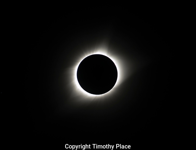 Full Totality 1:18:07 PM.