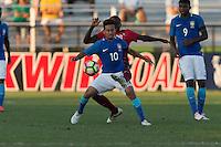 LAKEWOOD RANCH, FL - December 2, 2016: U-17s Brazil vs Portugal at the 2016 Nike International Friendlies at Premier Sports Campus.
