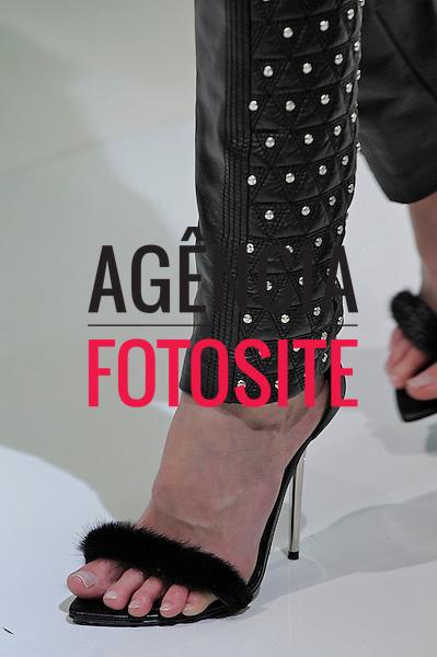 Mil&atilde;o, It&aacute;lia &ndash; 22/02/2013 - Desfile de Versace durante o Milano Fashion Week  -  Inverno 2013. <br /> Foto: Firstview/FOTOSITE