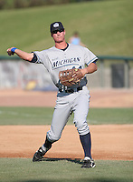 Ryan Strieby of the West Michigan Whitecaps during the Midwest League All-Star game.  Photo by:  Mike Janes/Four Seam Images