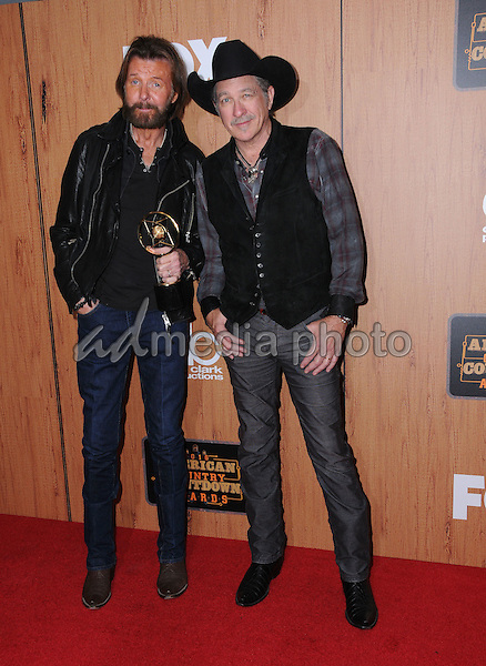 01 May 2016 - Inglewood, California - Brooks & Dunn, Kix Brooks, Ronnie Dunn. 2016 American Country Countdown Awards - Press Room held at The Forum. Photo Credit: Birdie Thompson/AdMedia