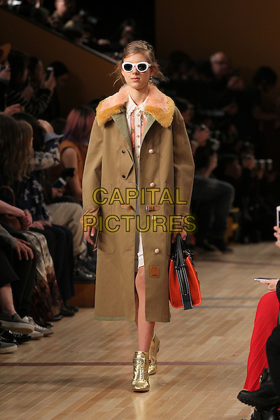 COACH<br /> New York Fashion Week<br /> Ready to Wear<br /> Fall Winter 16/17<br /> in New York, USA February 16, 2015.<br /> CAP/GOL<br /> &copy;GOL/Capital Pictures