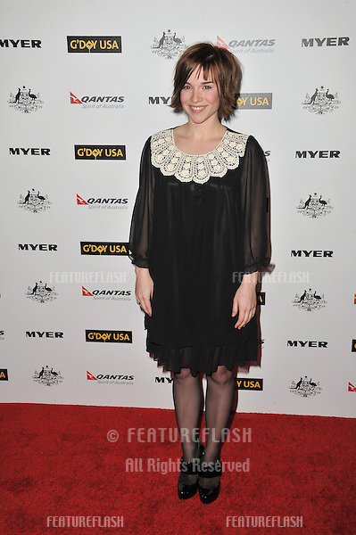 Renée Felice Smith at the 2011 G'Day USA Black Tie Gala at the Hollywood Palladium..January 22, 2011  Los Angeles, CA.Picture: Paul Smith / Featureflash