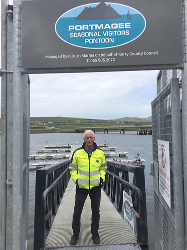 Ger Kennedy of Portmagee Seasonal Visitors Pontoons