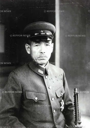 Undated - Shunroku Hata was a field marshal in the Imperial Japanese Army during World War II. He was the last surviving Japanese military officer with a marshal's rank.  (Photo by Kingendai Photo Library/AFLO)