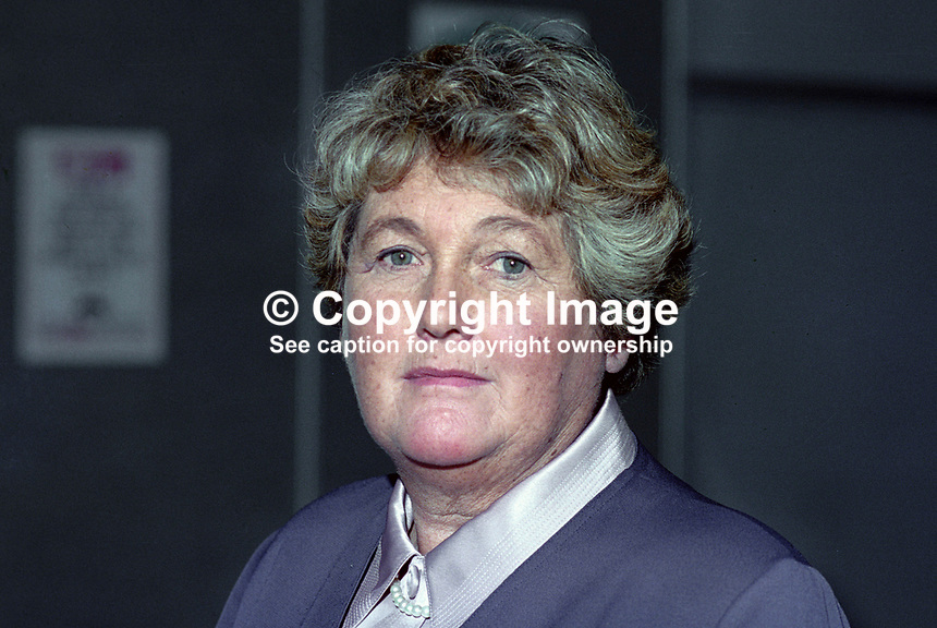 Angela Billingham, MEP, Labour Party, UK, at annual conference. 199409021.<br />