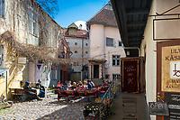 Master's Courtyard, Tallinn, Estonia