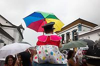 Mariana_MG, Brasil.<br /> <br /> Bonecos do Bloconeco do Catin desfilam pelas ruas historicas de Mariana, Minas Gerais.<br /> <br /> Bloconeco do Catin carnival band in Mariana carnival, Minas Gerais.<br /> <br /> Foto: MARCUS DESIMONI / NITRO