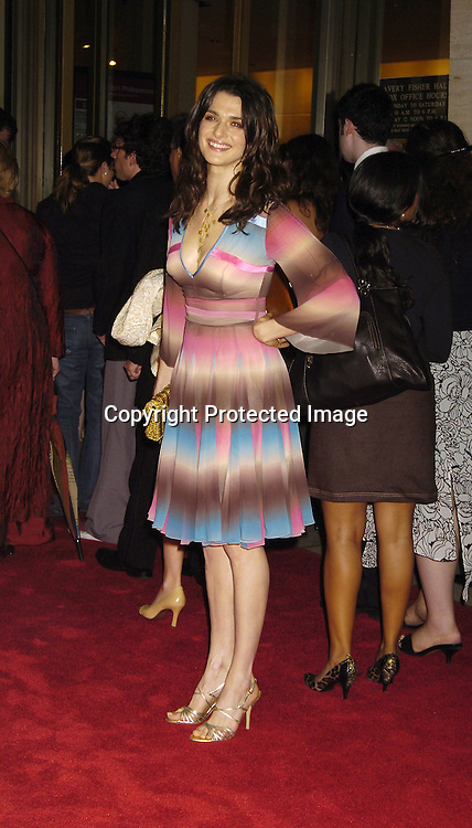 "Rachel Weisz ..at The 43rd New York Film Festival showing of ""Good Night, and Good Luck on September 23, 2005 at..Avery Fisher Hall. ..Photo by Robin Platzer, Twin Images"
