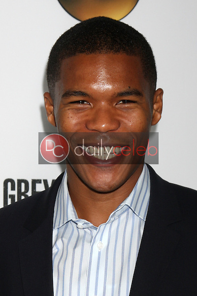"""Gaius Charles<br /> at the """"Grey's Anatomy"""" 200th Episode Red Carpet Event, Colony, Hollywood, CA 09-28-13<br /> David Edwards/Dailyceleb.com 818-249-4998"""