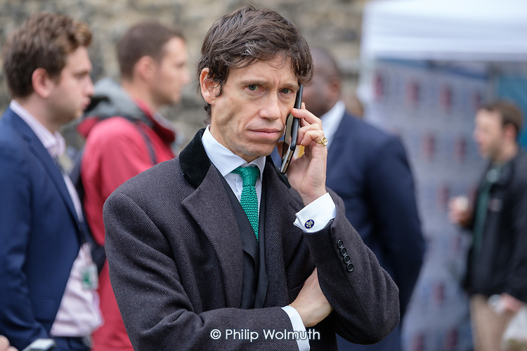 Justice Minister Rory Stewart MP, College Green, Westminster, London, on the day of four ministerial resignations over Brexit deal.