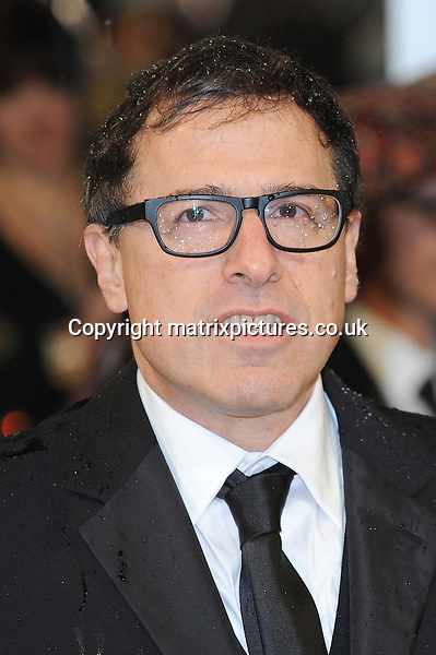 NON EXCLUSIVE PICTURE: PAUL TREADWAY / MATRIXPICTURES.CO.UK.PLEASE CREDIT ALL USES..WORLD RIGHTS..American director David O. Russell attending the 2013 EE British Academy Film Awards, at London's Royal Opera House...FEBRUARY 10th 2013..REF: PTY 13945