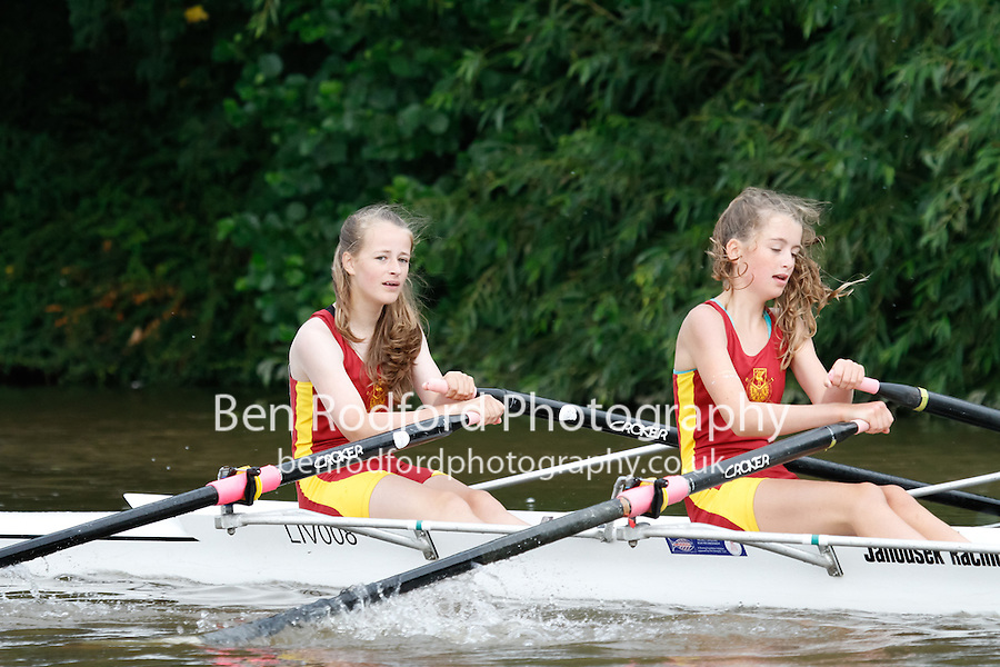 W.J13A.2x  Final  (69) Liverpool Victoria vs (71) Staines<br /> <br /> Saturday - Gloucester Regatta 2016<br /> <br /> To purchase this photo, or to see pricing information for Prints and Downloads, click the blue 'Add to Cart' button at the top-right of the page.