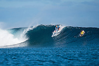 Namotu Island Resort, Nadi, Fiji (Monday, May 30 2016): Bethany Hamilton (USA) - The  2016 Fiji Women's Pro commenced at 9 am this morning in clean 3'-4' building swell at Cloudbreak. Rounds 2,3and 4  was completed as the swell built through the afternoon. There were strong Trade winds in the afternoon as well making the waves a bit choppy. Photo: joliphotos.com