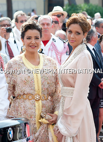 """MONACO ROYAL WEDDING ..Guests Arrive at the Religious wedding of H.S.H Prince Albert II and Miss Charlene Wittstock in the Prince's Palace._Prince's Palace Monaco 01/07/2011..Mandatory Photo Credit: ©Dias/Newspix International..**ALL FEES PAYABLE TO: """"NEWSPIX INTERNATIONAL""""**..PHOTO CREDIT MANDATORY!!: NEWSPIX INTERNATIONAL(Failure to credit will incur a surcharge of 100% of reproduction fees)..IMMEDIATE CONFIRMATION OF USAGE REQUIRED:.Newspix International, 31 Chinnery Hill, Bishop's Stortford, ENGLAND CM23 3PS.Tel:+441279 324672  ; Fax: +441279656877.Mobile:  0777568 1153.e-mail: info@newspixinternational.co.uk"""