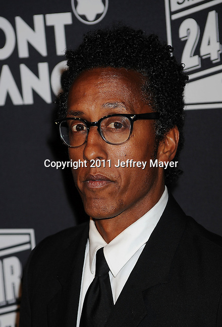 SANTA MONICA, CA - JUNE 18: Andre Royo arrives for the Montblanc presents West coast debut of The 24 Hours Plays after party on June 18, 2011 in Santa Monica, United States.(Photo by Jeffrey Mayer/WireImage) *** Local caption *** Andre Royo