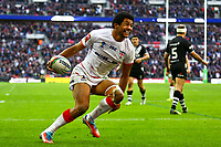 Picture by Alex Whitehead/SWpix.com - 23/11/2013 - Rugby League - Rugby League World Cup Semi Final - New Zealand v England - Wembley Stadium, London, England - England's Kallum Watkins celebrates his try. Rugby League World Cup 2013 re edited 11/10/2017 Best Of