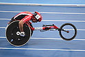 SEPTEMBER 11, 2016 - Athletics : <br /> Men's 400m T54 Heat <br /> at Olympic Stadium<br /> during the Rio 2016 Paralympic Games in Rio de Janeiro, Brazil.<br /> (Photo by AFLO SPORT)