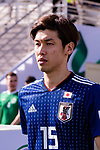 Osako Yuya of Japan enters the pitch prior to the AFC Asian Cup UAE 2019 Group F match between Japan (JPN) and Turkmenistan (TKM) at Al Nahyan Stadium on 09 January 2019 in Abu Dhabi, United Arab Emirates. Photo by Marcio Rodrigo Machado / Power Sport Images