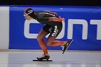 SCHAATSEN: HEERENVEEN: 24-10-2014, IJsstadion Thialf, Trainingswedstrijd, Carien Kleibeuker, ©foto Martin de Jong