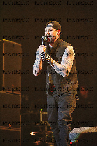 GOOD CHARLOTTE - Joel Madden - performing live at the O2 in London UK - 11 Feb 2016.  Photo credit: Paul Harries/IconicPix **NOT AVAILABLE FOR UK MUSIC MAGAZINES**