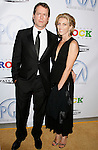 LOS ANGELES, CA. - January 24: Actor Greg Kinnear and wife Helen Kinnear arrive at the 20th Annual Producer's Guild Awards at the The Hollywood Palladium on January 24, 2009 in Los Angeles, California.