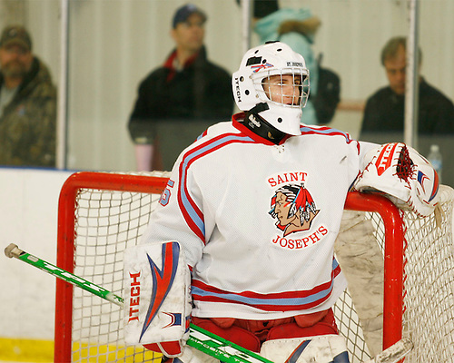 Saint Joseph's High School Hockey 2008-2009.