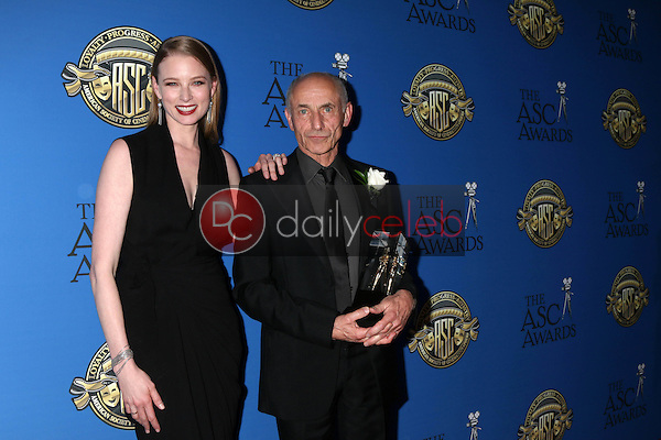 Rachel Nichols, Philippe Rousselot<br /> at the 31st Annual American Society Of Cinematographers Awards, Ray Dolby Ballroom, Hollywood, CA 02-04-17<br /> David Edwards/DailyCeleb.com 818-249-4998