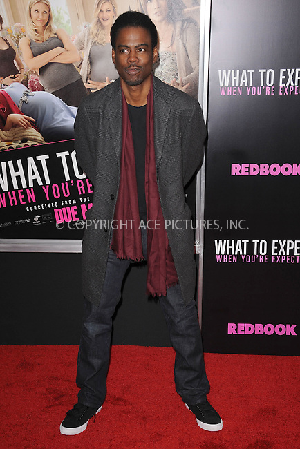 WWW.ACEPIXS.COM . . . . . .May 8, 2012...New York City....Chris Rock attending the 'What To Expect When You're Expecting' New York Screening at AMC Lincoln Square Theater on May 8, 2012  in New York City ....Please byline: KRISTIN CALLAHAN - ACEPIXS.COM.. . . . . . ..Ace Pictures, Inc: ..tel: (212) 243 8787 or (646) 769 0430..e-mail: info@acepixs.com..web: http://www.acepixs.com .