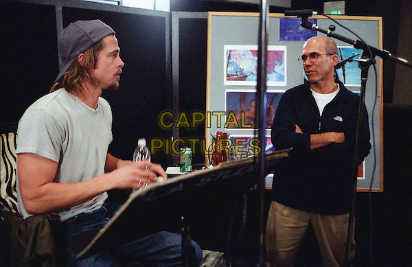 BRAD PITT,  voice of Sinbad, and producer JEFFREY KATZENBERG .in Sinbad: Legend Of The Seven Seas.Filmstill - Editorial Use Only.Ref: FB.sales@capitalpictures.com.www.capitalpictures.com.Supplied by Capital Pictures.