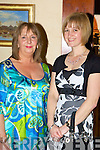 Roseleen Thorpe and Helen Standen at the Killorglin Intermediette School Centenary celebrations in the Dunloe Castle Hotel Beaufort on Saturday..