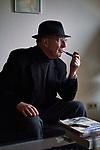 Germany, Berlin, 2017/12/19<br /> <br /> Joachim Seinfeld, artist Photo by Gregor Zielke (Photo by Gregor Zielke)