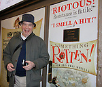 """One Life To Live's Peter Bartlett """"Nigel"""" stars in Broadway's """"Something Rotten"""" and he poses by the Stage Door. (Photo by Sue Coflin/Max Photos)"""