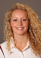 STANFORD, CA - SEPTEMBER 10:  Stefanie Sutton of the Stanford Cardinal during women's swimming picture day on September 10, 2009 in Stanford, California.