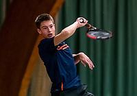 Wateringen, The Netherlands, November 27 2019, De Rhijenhof , NOJK 12 and16 years, Freek van Donselaar (NED)<br /> Photo: www.tennisimages.com/Henk Koster