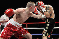 Lee Noble and Dee Walsh at the Magna Centre, Rotherham, promoted by Hennessy Sports - 18/02/12 - MANDATORY CREDIT: Chris Royle