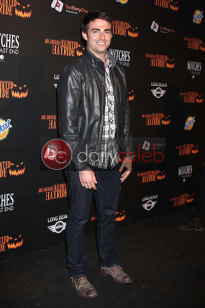 Jonathan Bennett<br /> at the 8th Annual LA Haunted Hayride Premiere Night, Griffith Park, Los Angeles, CA 10-10-13<br /> David Edwards/DailyCeleb.Com 818-249-4998