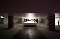 """13th Biennale of Architecture..Arsenale..Valerio Olgiati. """"Pictographs - Statements of Contemporary Architects"""", 2012."""