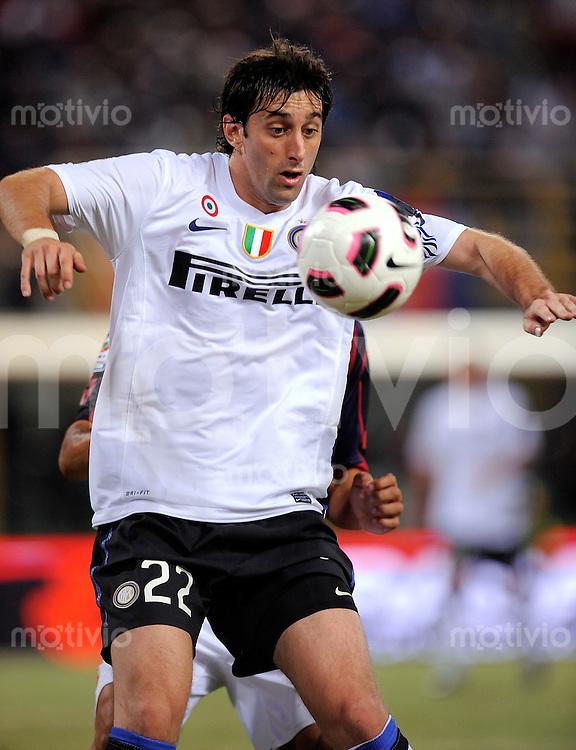 FUSSBALL INTERNATIONAL   SERIE A   SAISON 2010/2011    FC Bologna - Inter Mailand      30.08.2010 Diego Milito  (Inter)