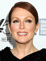 NEW YORK CITY, NY, USA - SEPTEMBER 27: Julianne Moore arrives at the 52nd New York Film Festival - 'Maps To The Stars' Premiere held at Alice Tully Hall on September 27, 2014 in New York City, New York, United States. (Photo by Celebrity Monitor)