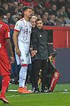 12.01.2018, BayArena, Leverkusen , GER, 1.FBL., Bayer 04 Leverkusen vs. FC Bayern M&uuml;nchen<br /> im Bild / picture shows: <br /> Sandro Wagner (Bayern Muenchen #2),  wird eingewechselt <br /> <br /> <br /> Foto &copy; nordphoto / Meuter