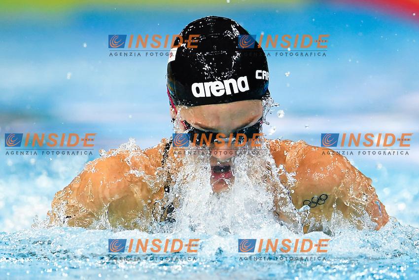 CARRARO Martina ITA<br /> Women's 50m Breaststroke<br /> 13th Fina World Swimming Championships 25m <br /> Windsor  Dec. 6th, 2016 - Day01<br /> WFCU Centre - Windsor Ontario Canada CAN <br /> 20161206 WFCU Centre - Windsor Ontario Canada CAN <br /> Photo &copy; Giorgio Scala/Deepbluemedia/Insidefoto