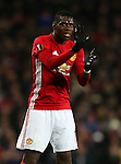 Paul Pogba of Manchester United gestures during the UEFA Europa League match at Old Trafford, Manchester. Picture date: November 24th 2016. Pic Matt McNulty/Sportimage