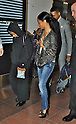 Jada Pinkett Smith, Willow Smith, Tokyo, Japan, May 7, 2012 : Jada Pinkett Smith(R) and her daughter Willow Smith arrive at Haneda Airport in Tokyo, Japan on May 7, 2012.