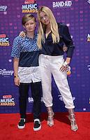 Alli Simpson + brother Tom @ the Radio Disney Music awards 2016 held @the Microsoft theatre.<br /> April 30, 2016