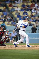 06/06/17 Los Angeles, CA: Los Angeles Dodgers second baseman Chase Utley #26 during an MLB game between the Los Angeles Dodgers and the Washington Nationals played at Dodger Stadium.